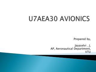U7AEA30 AVIONICS