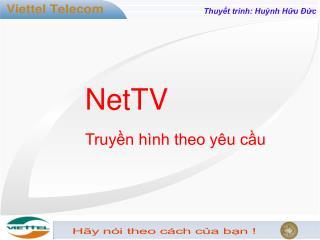 Thuyết trình: Huỳnh Hữu Đức