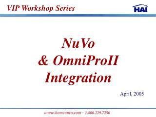 VIP Workshop Series