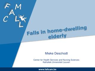 Falls in home-dwelling elderly