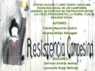 AUTORES: Fabián Mauricio Castro Andrea Millán Hincapié