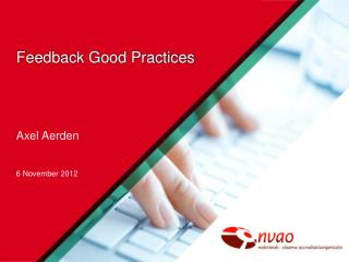 Feedback Good Practices