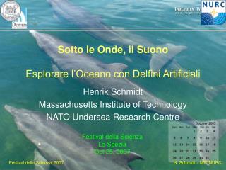 Sotto le Onde, il Suono Esplorare l�Oceano con Delfini Artificiali