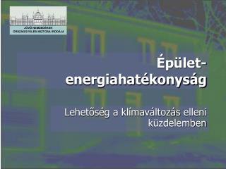 Épület-energiahatékonyság