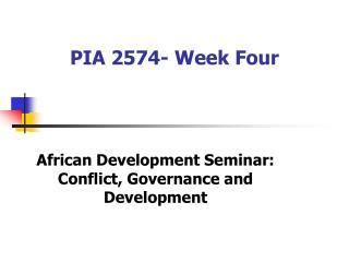 PIA 2574- Week Four