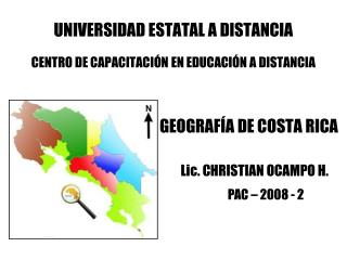 UNIVERSIDAD ESTATAL A DISTANCIA CENTRO DE CAPACITACIÓN EN EDUCACIÓN A DISTANCIA