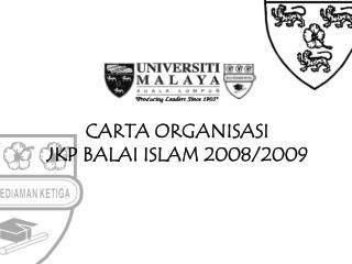 CARTA ORGANISASI  JKP BALAI ISLAM 2008/2009