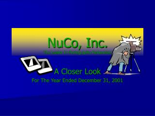 NuCo, Inc. The Leader In Photographic Restoration