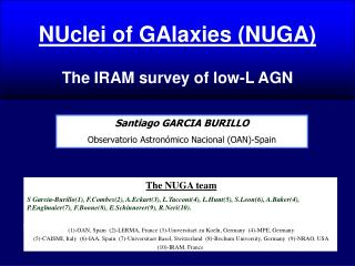 NUclei of GAlaxies (NUGA) The IRAM survey of low-L AGN