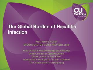 The Global Burden of Hepatitis Infection