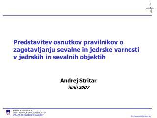 Andrej Stritar junij 2007
