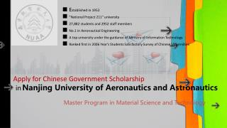 in Nanjing University of Aeronautics and Astronautics