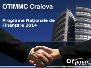 Programe Na ?ionale  de Finan ?are  2014
