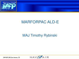 MARFORPAC ALD-E