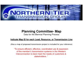 Planning Committee- Map Data for the Biennial Planning Process