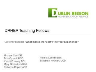 DRHEA Teaching Fellows