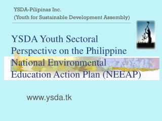 YSDA-Pilipinas Inc.  (Youth for Sustainable Development Assembly)