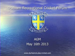 Durham Recreational Cricket Forum