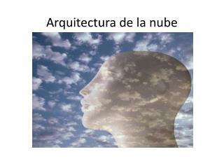 Arquitectura de la nube