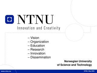 NTNU, May 2006