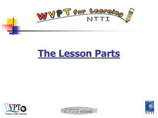 The Lesson Parts