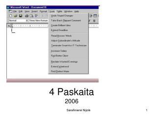 4 Paskaita 2006