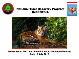 National Tiger Recovery Program INDONESIA