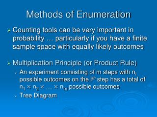 Methods of Enumeration