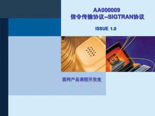 AA000009 信令传输协议 --SIGTRAN 协议