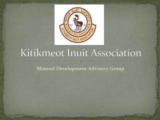 Kitikmeot Inuit Association