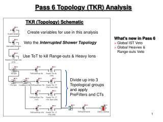 Pass 6 Topology (TKR) Analysis