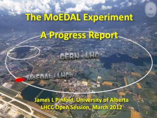 The MoEDAL Experiment A Progress Report