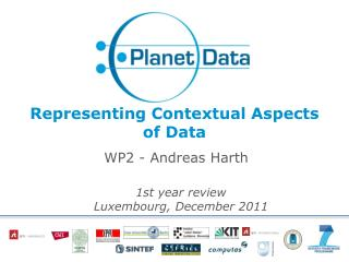 Representing  Contextual Aspects  of  Data