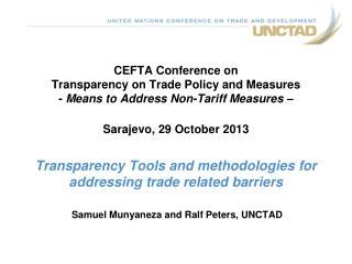 Samuel Munyaneza and Ralf Peters, UNCTAD