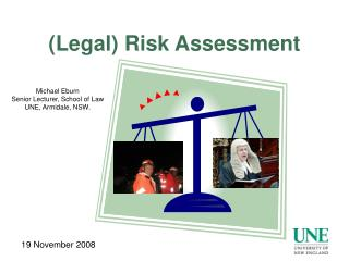 (Legal) Risk Assessment