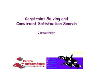 Constraint Solving and Constraint Satisfaction Search