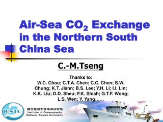 Air-Sea CO 2  Exchange in the Northern South China Sea