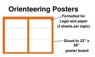 Orienteering Posters