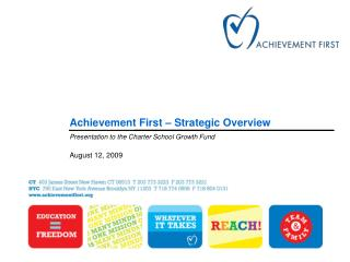Achievement First – Strategic Overview