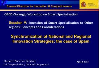 OECD- Gwangju  Workshop on Smart Specialization