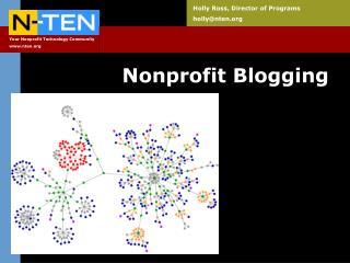 Nonprofit Blogging