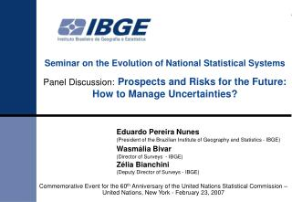Seminar on the Evolution of National Statistical Systems