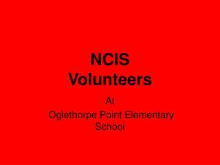 NCIS  Volunteers