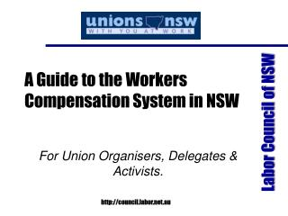 A Guide to the Workers Compensation System in NSW