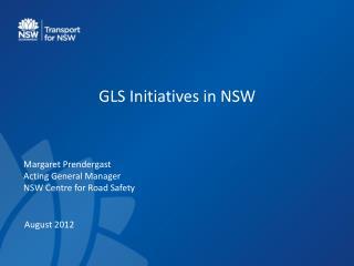 GLS Initiatives in NSW