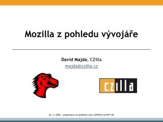 Mozilla z pohledu vývojáře