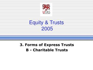 Equity & Trusts  2005