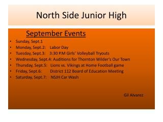 North Side Junior High