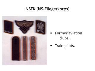 NSFK (NS-Fliegerkorps)