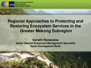 Regional Approaches to Protecting and Restoring Ecosystem Services in the